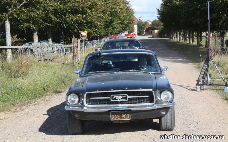 махинаторы ford mustang fastback